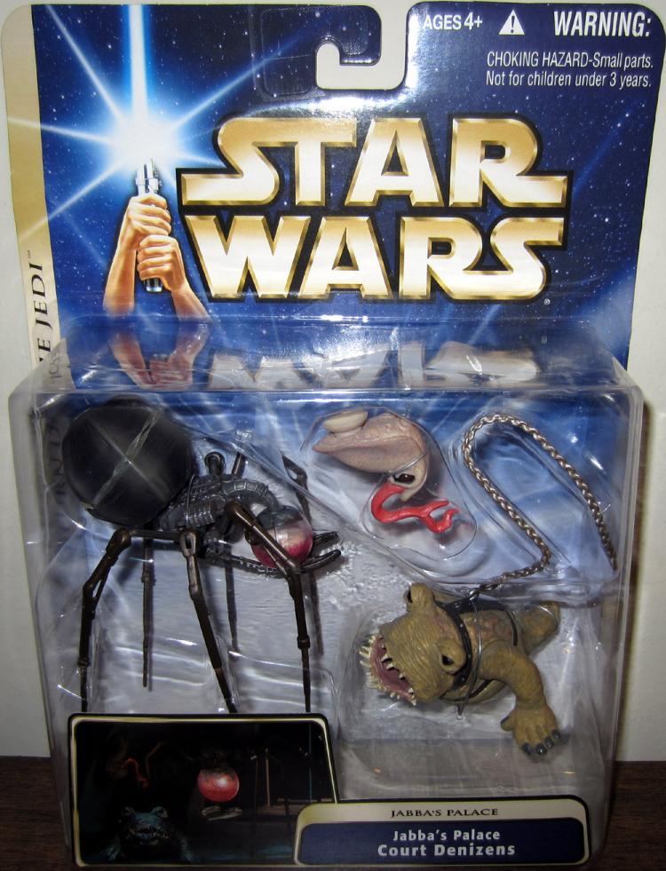Jabbas Palace Court Denizens Star Wars Return Jedi action figures
