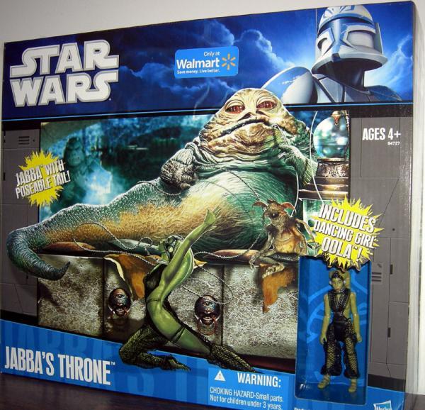 Jabbas Throne Figures Star Wars Walmart Exclusive