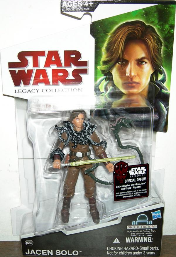 Jacen Solo Figure BD59 Star Wars Legacy Collection