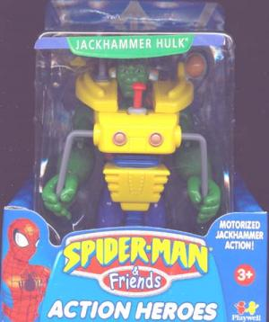 Jackhammer Hulk Spider-Man Friends