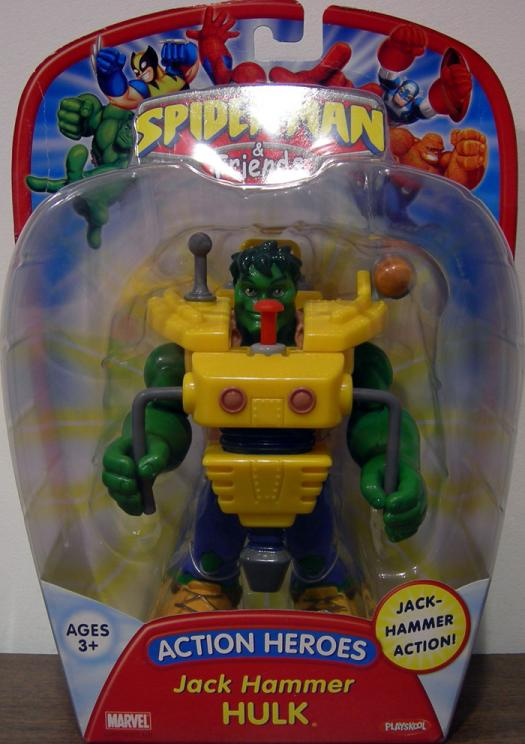 Jack Hammer Hulk Spider-Man Friends, reissued