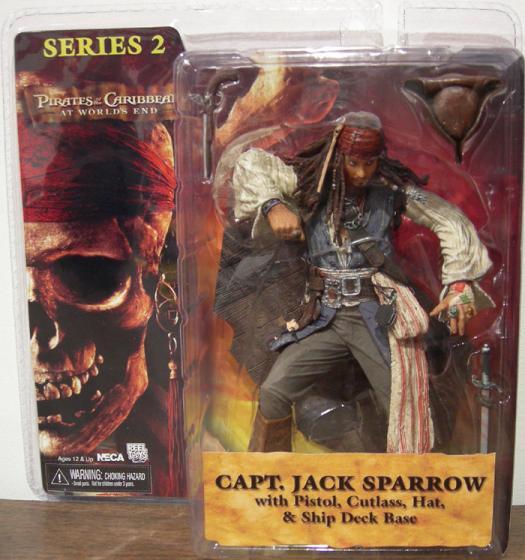 Capt Jack Sparrow Worlds End, series 2, no coat
