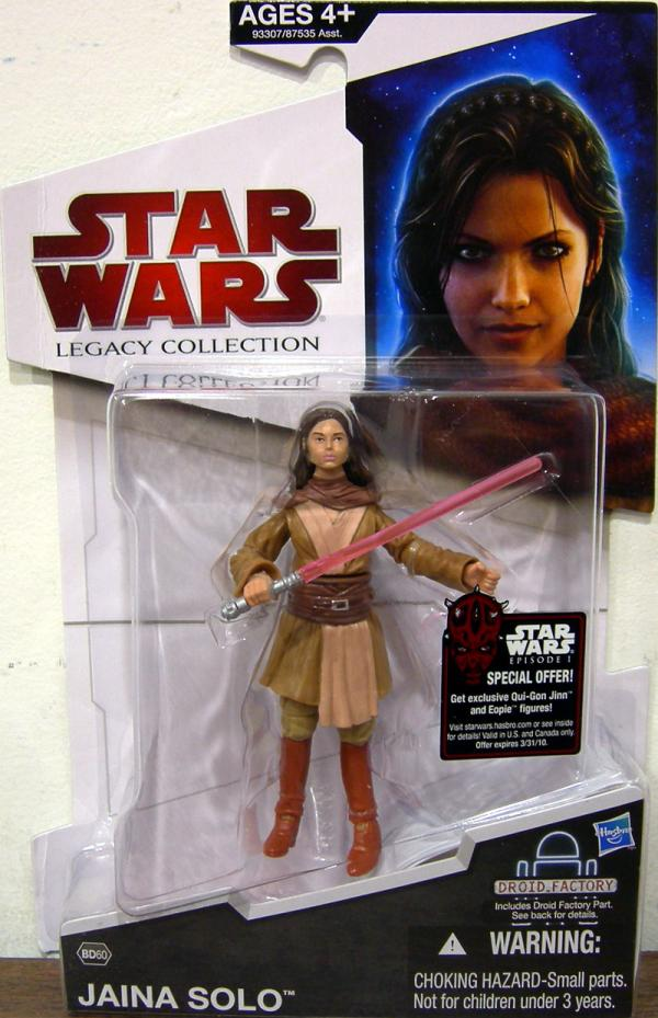 Jaina Solo Action Figure BD60 Star Wars Legacy Collection