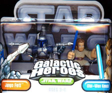 Jango Fett Obi-Wan Kenobi Galactic Heroes