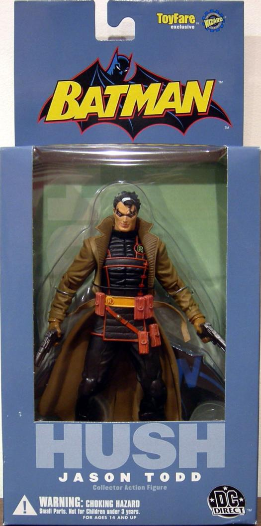 Jason Todd Hush Action Figure Wizard ToyFare Exclusive Batman