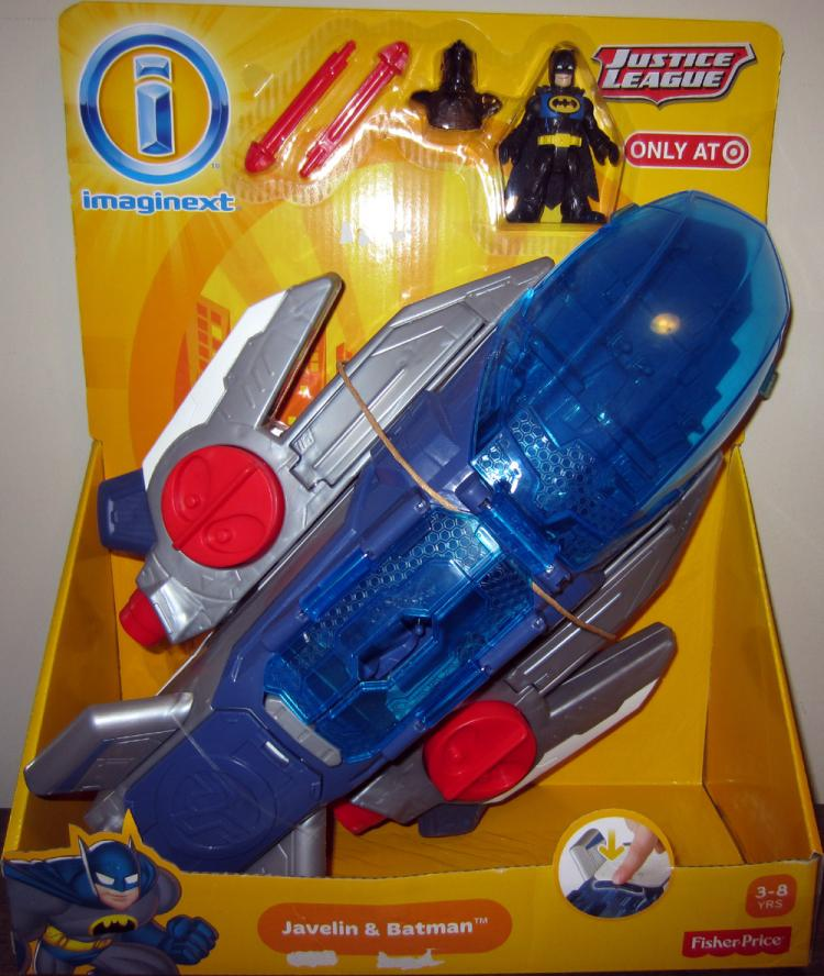 Javelin Vehicle with Batman Figure Imaginext Justice League Target Exclusive