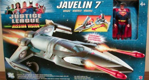 Javelin 7 Mission Vision Superman