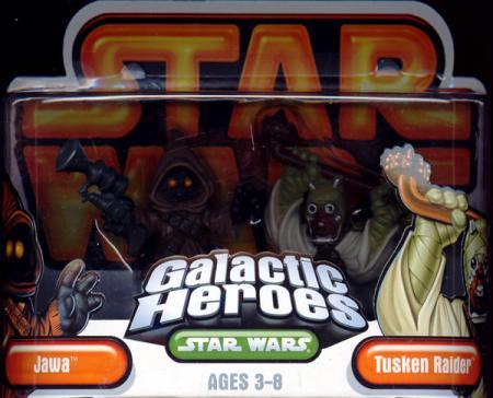 Jawa Tusken Raider Galactic Heroes