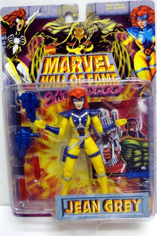 Jean Grey Marvel Hall Fame She-Force action figure