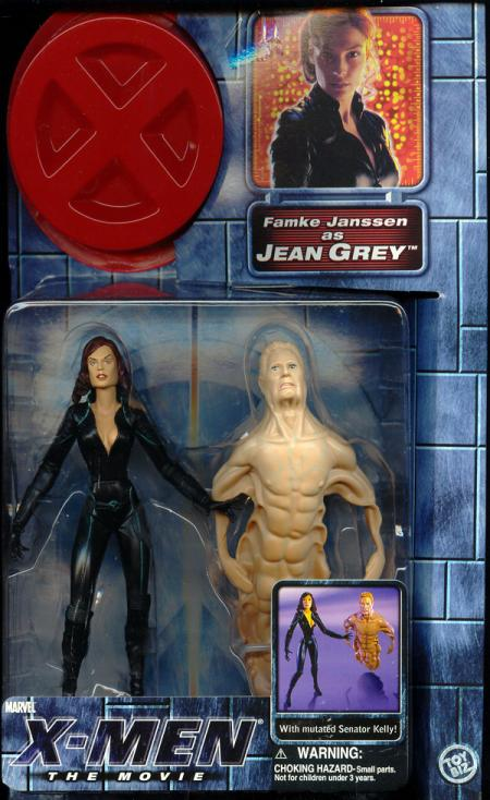 Jean Grey X-Men Movie hair down action figure
