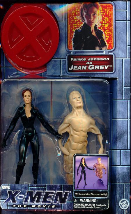 Jean Grey Figure X-Men Movie Ponytail Famke Janssen