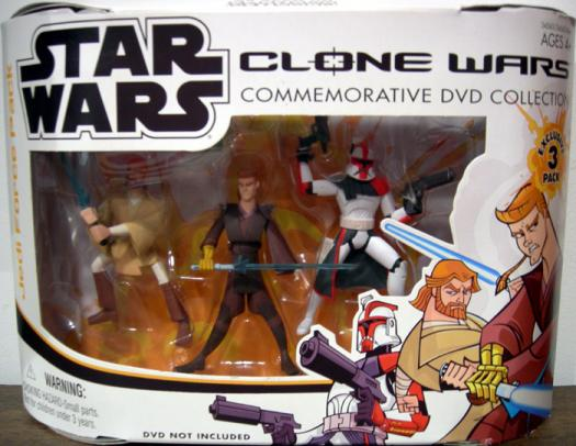 Jedi Force 3-Pack Cartoon Network
