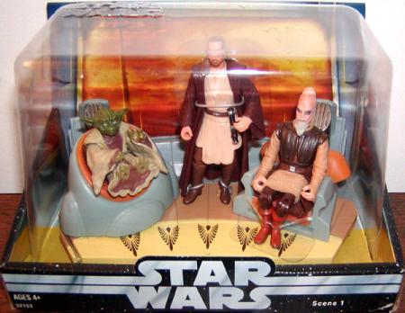 Jedi High Council Scene 1 Action Figures Star Wars