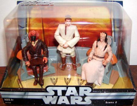 Jedi High Council Scene 2 Star Wars action figures