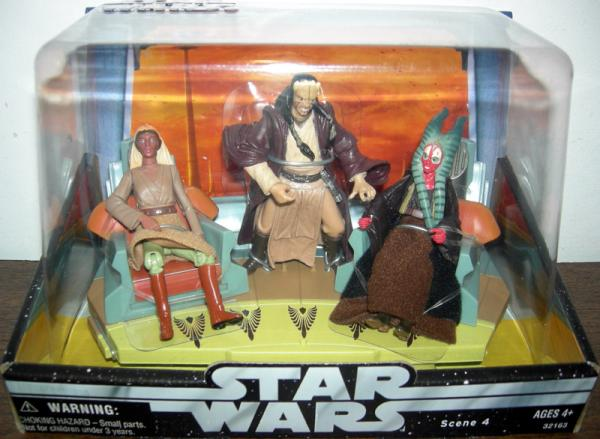 Jedi High Council Figures Scene 4 Star Wars