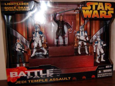 Jedi Temple Assault Battle 5-Pack
