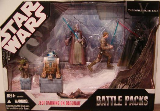 Jedi Training Dagobah Battle 5-Pack