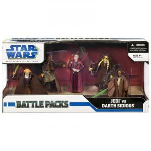 Jedi vs Darth Sidious 5-Pack Battle Pack Legacy Collection