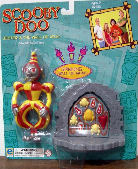 Jester and the Wall of Meat Action Figure Scooby-Doo Movie Equity