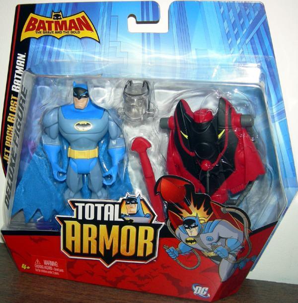 Jet Pack Blast Batman Total Armor