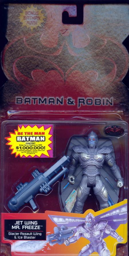 Jet Wing Mr Freeze Batman Robin, bonus Batman ring
