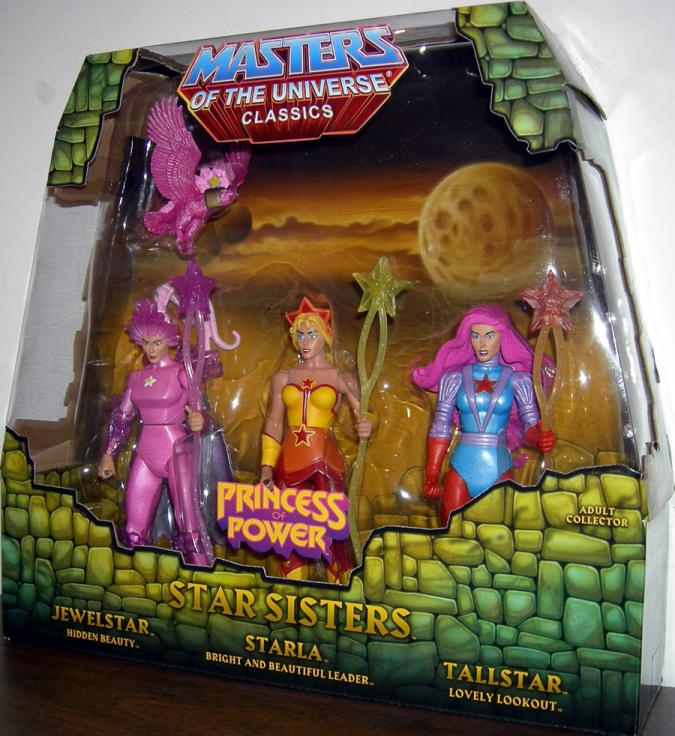 Star Sisters Masters Universe Classics Princess Power action figures