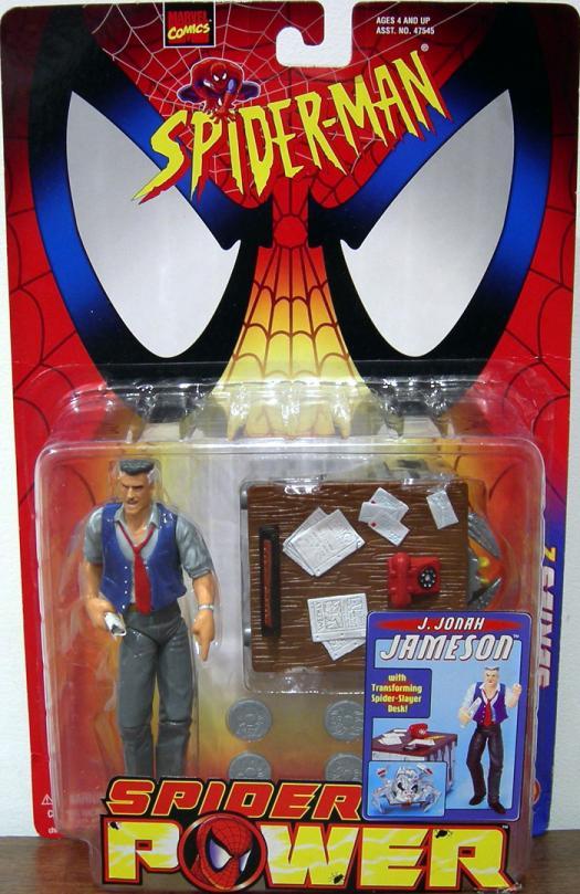 J Jonah Jameson Spider Power