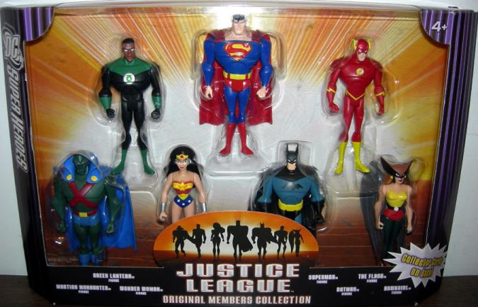 Justice League Original Members Collection 7-Pack