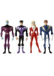 JLU Legion Super Heroes 4-Pack