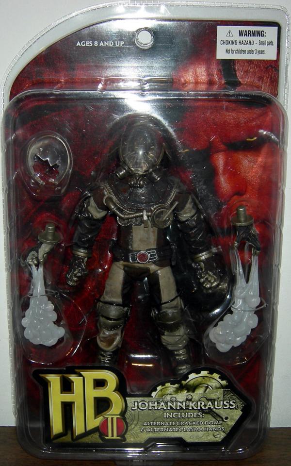 Johann Krauss Hellboy HB II action figure