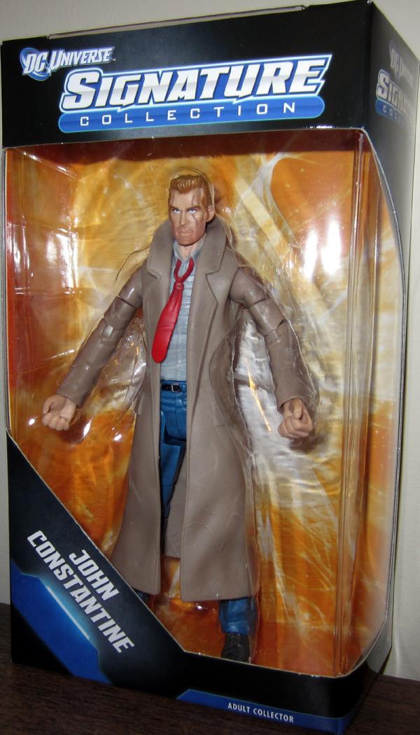 John Constantine DC Universe Signature Collection action figure