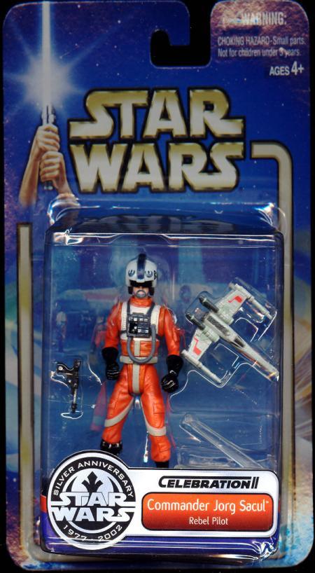 Commander Jorg Sacul Figure Star Wars Celebration II