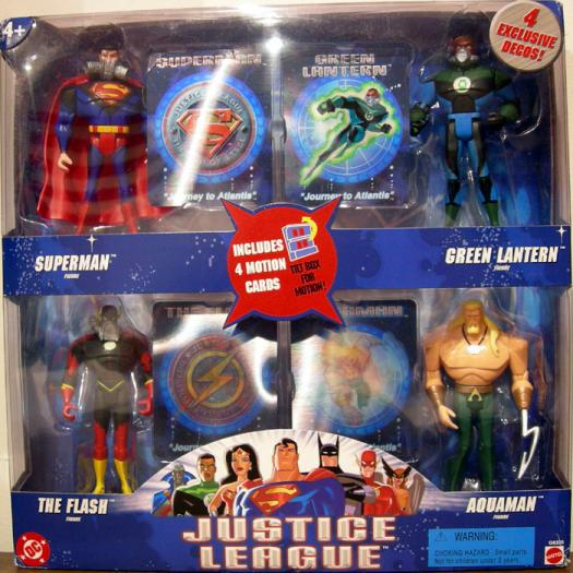 Journey Atlantis 4-Pack Justice League