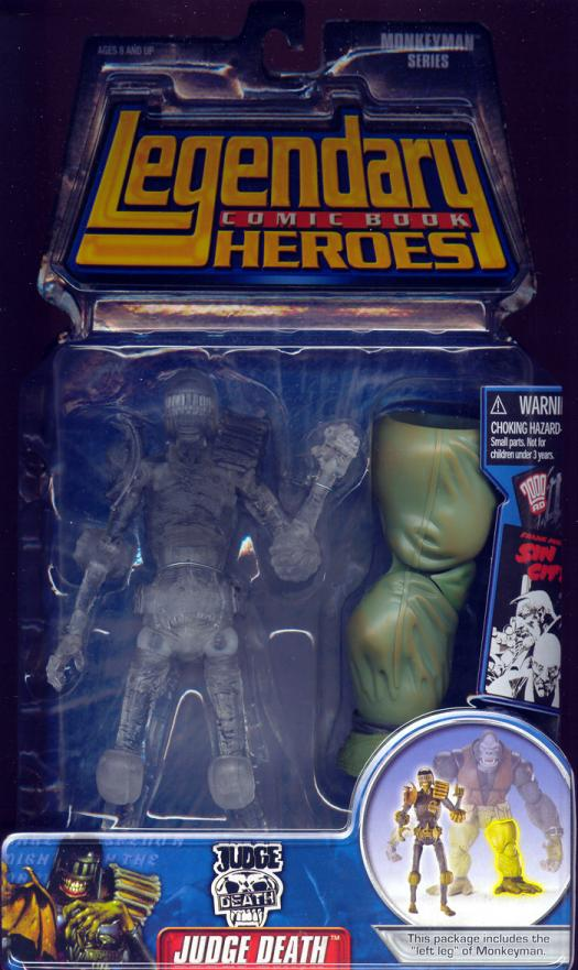 Judge Death Legendary Comic Book Heroes, variant
