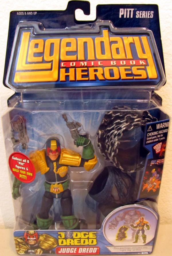 Judge Dredd Legendary Comic Book Heroes action figure