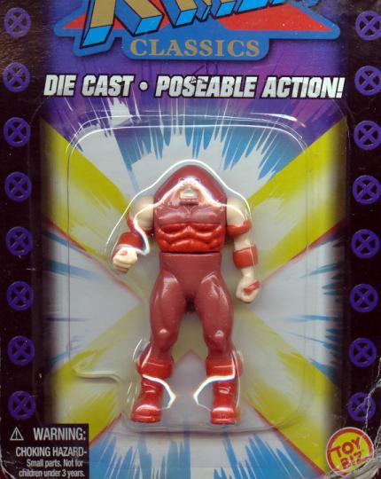 Juggernaut Figure X-Men Classics Die Cast Poseable Action
