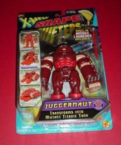 Juggernaut Shape Shifters action figure