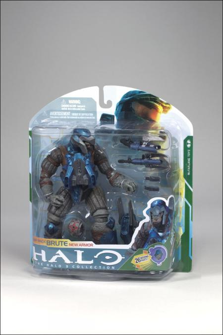 Jump Pack Brute Figure Halo 3 Collection New Armor
