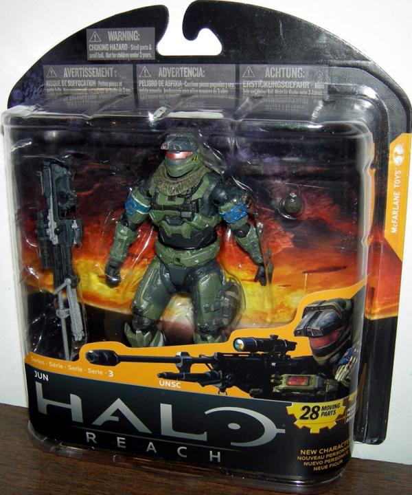 Jun Action Figure Halo Reach Series 3 McFarlane Toys
