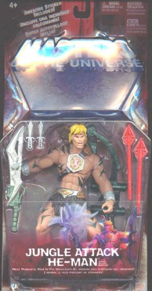 Jungle Attack He-Man Action Figure Masters Universe Mattel