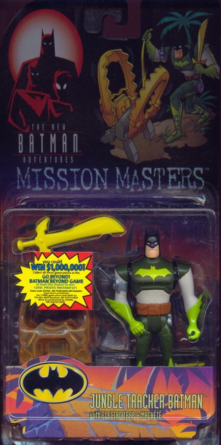 Jungle Tracker Batman Mission Masters