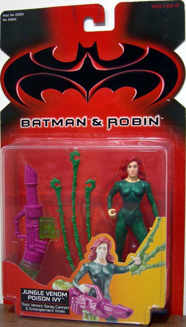 Jungle Venom Poison Ivy Action Figure Batman Robin Movie