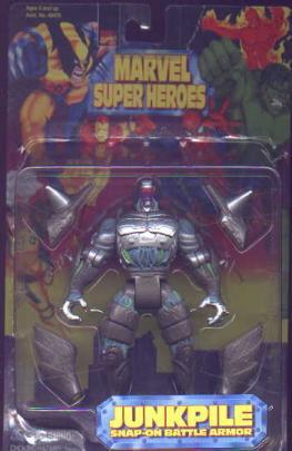 Junkpile Marvel Super Heroes action figure