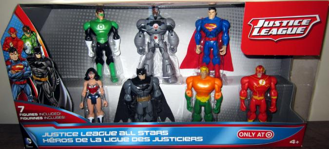 Justice League All Stars 7-Pack action figures