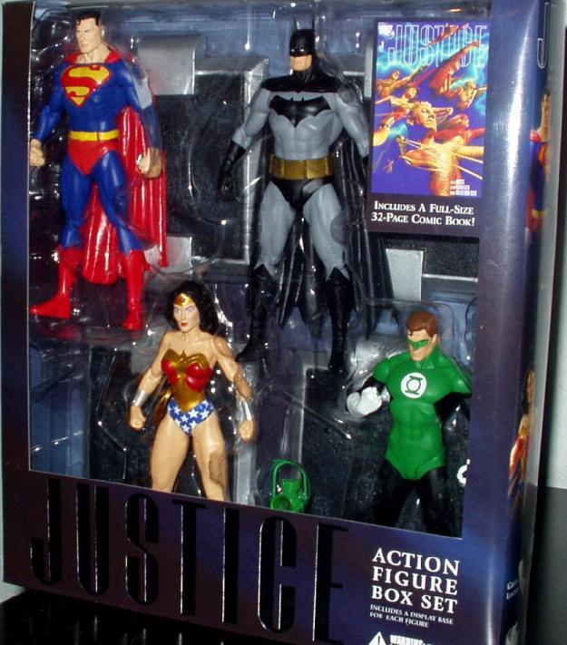 Justice Action Figure Box Set Alex Ross