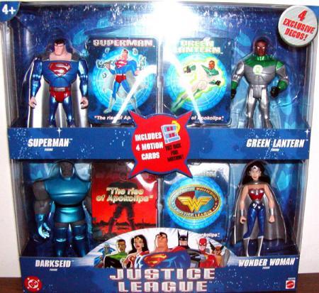 Justice League 4-Pack Rise Apokolips