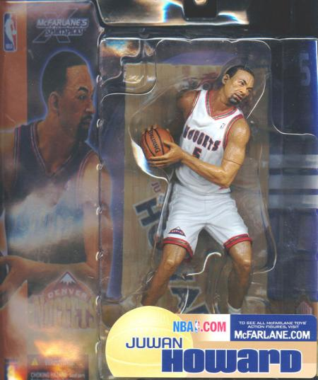 Juwan Howard White Uniform Sports Picks Series 3 action figure