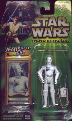 K-3PO Figure Echo Base Protocol Droid Star Wars Power Jedi