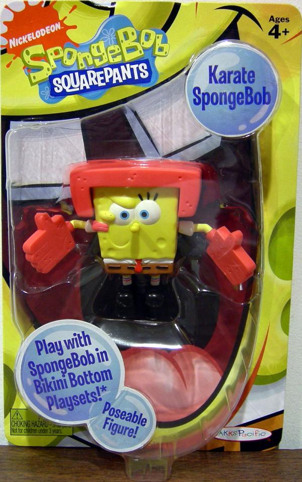 Karate SpongeBob Figure Squarepants Bikini Bottom