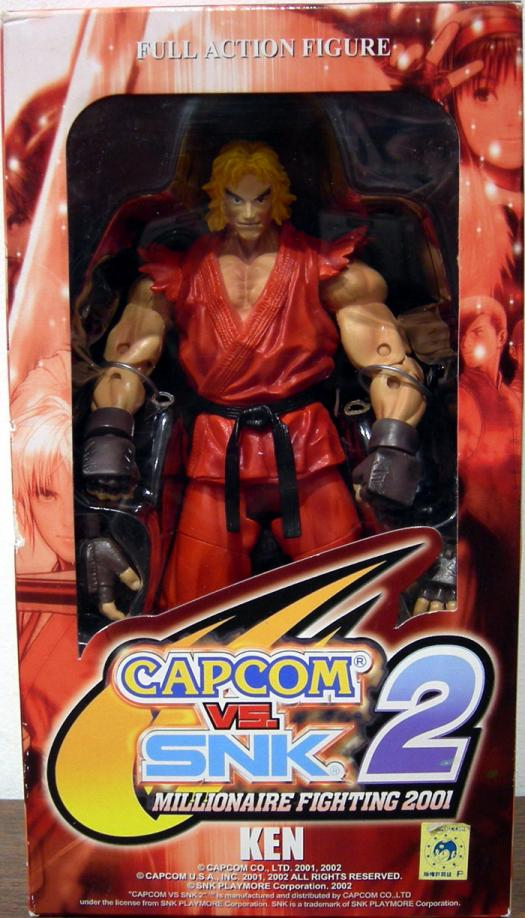 Ken Capcom vs SNK 2 Millionaire Fighting 2001